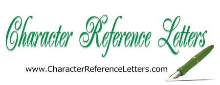 Free Letter of Reference Template - Vertex42com